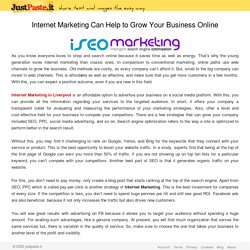 Internet Marketing Can Help to Grow Your Business Online