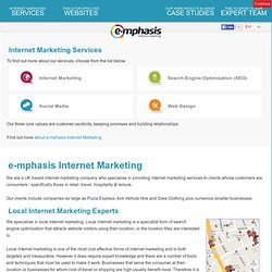 E-mphasis Online Marketing - Internet Visibility