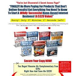 100% FREE Internet Marketing eBooks! Download Today!