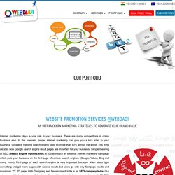 Website Promotion Services India
