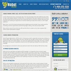 Internet Marketing, SEO & Social Media Services | RobotForce.com