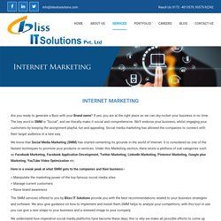 Topmost digital marketing services in Chandigarh - BlissIT Solutions