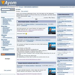 Ayom - Internet Marketing Portal
