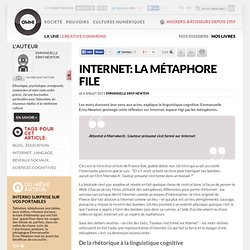 Internet: la métaphore file