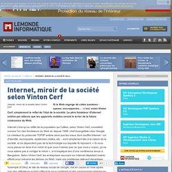 Internet: fonction ==> sociale, miroir de la société