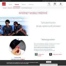 Internet Mobile prépayé