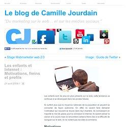 Les enfants et Internet : Motivations, freins et profils