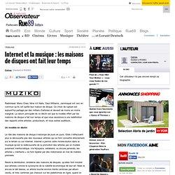Internet et la musique : les maisons de disques ont fait leur te