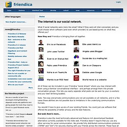 The internet is our social network. | friendica