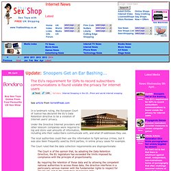Internet Website News: Latest