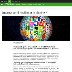 Internet est-il nocif pour la planète ?