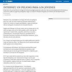 INTERNET, UN PELIGRO PARA LOS JÓVENES - Archivo Digital de Noticias de Colombia y el Mundo desde 1.990 - eltiempo.com