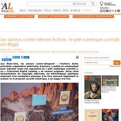 Les auteurs contre Internet Archive : le prêt numérique contrôlé est illégal
