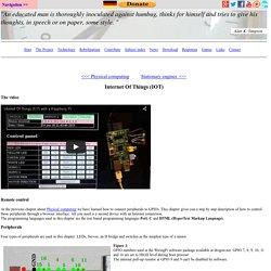Internet Of Things - HomoFaciens