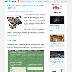 2 Applications To Improve Internet Parental Control