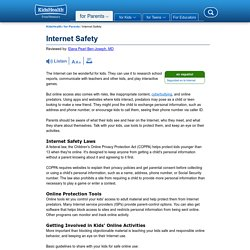 Internet Safety (for Parents)
