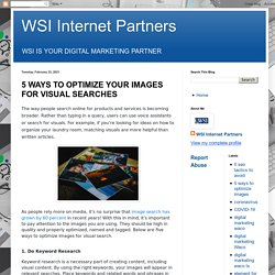 5 Ways To Optimize Your Images For Visual Searches
