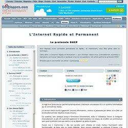 L'Internet Rapide et Permanent - Le protocole DHCP
