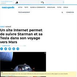 Un site Internet permet de suivre Starman et sa Tesla dans son voyage vers Mars