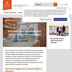 Internet chez les personnes âgées : usages et avantages