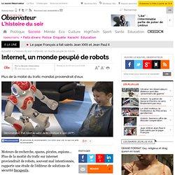 Internet, un monde peuplé de robots