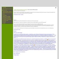 Site Internet de Philippe Géléoc - News: Oral concours ITRF Sauvadet