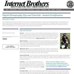 Internet Brothers: Digital Photography Tips and Tutorials