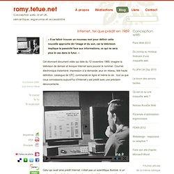 Internet, tel que prédit en 1969