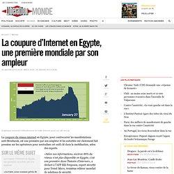 La coupure d'Internet en Egypte, une première mondiale par son ampleur