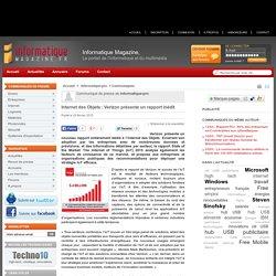 Internet des Objets : Verizon présente un rapport inédit - Informatique-Magazine.fr