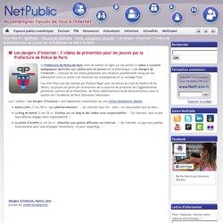 Les dangers d'Internet : 3 vidéos de prévention pour les jeunes par la Préfecture de Police de Paris