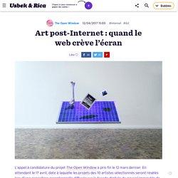 Art post-Internet : quand le web crève l'écran