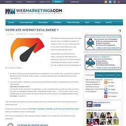 Votre site Internet est-il rapide