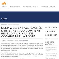 Deep Web, la face cachée d'Internet... ou comment recevoir un kilo de cocaïne par la Poste
