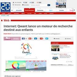 Internet: Qwant lance un moteur de recherche destiné aux enfants