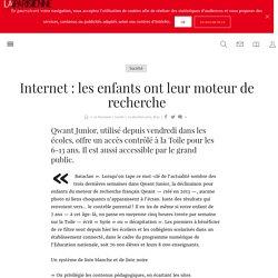 Internet : les enfants ont leur moteur de recherche - La Parisienne
