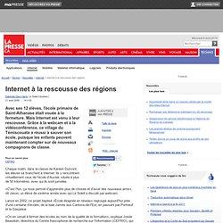 Daphnée Dion-Viens : Internet à la rescousse des régions