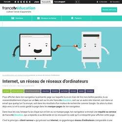 Internet, un réseau de réseaux d'ordinateurs