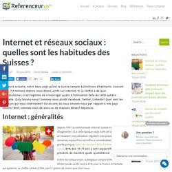 Internet, réseaux sociaux : où se situe la Suisse en la matière?