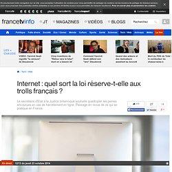 Internet : les peines encourues pour les menaces et les injures (sur Francetvinfo.fr)