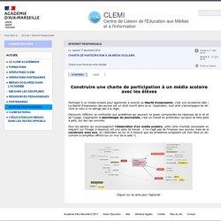 charte média scolaire - CLEMI