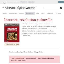 Internet, révolution culturelle