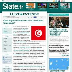 Quel impact d'internet sur la révolution tunisienne?