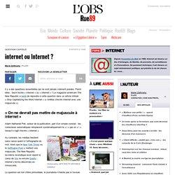 internet ou Internet?