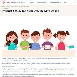 Internet Safety for Kids: Staying Safe Online