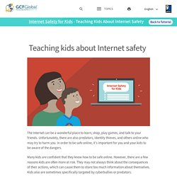 Internet Safety for Kids: Teaching Kids About Internet Safety
