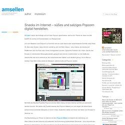 unter anderem Titel im blog von Amsellen