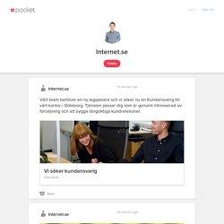 Internet.se on Pocket