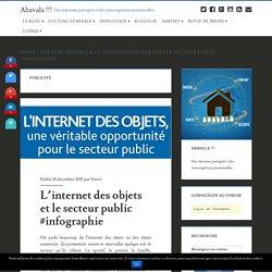 L'internet des objets et le secteur public #infographie