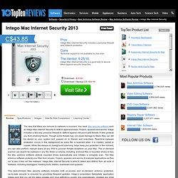 Intego VirusBarrier 2011 - TopTenREVIEWS